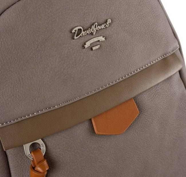 Plecak damski beżowy David Jones 6612-3A TAUPE