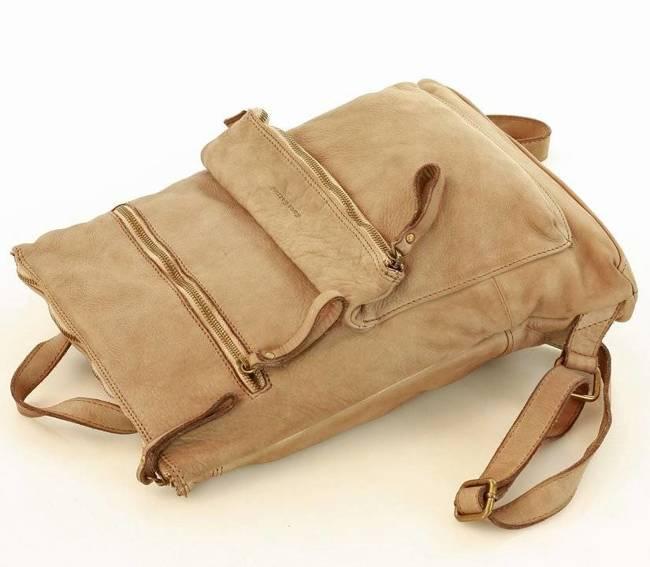 Plecak damski beżowy Marco Mazzini v90d