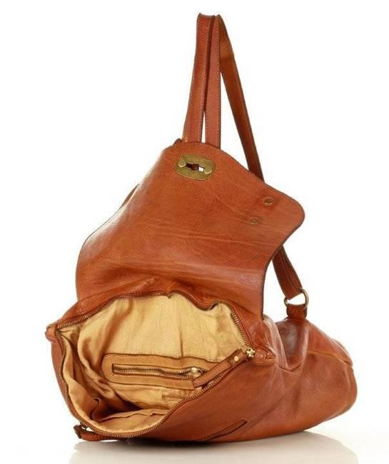 Plecak damski camel MARCO MAZZINI  v155b