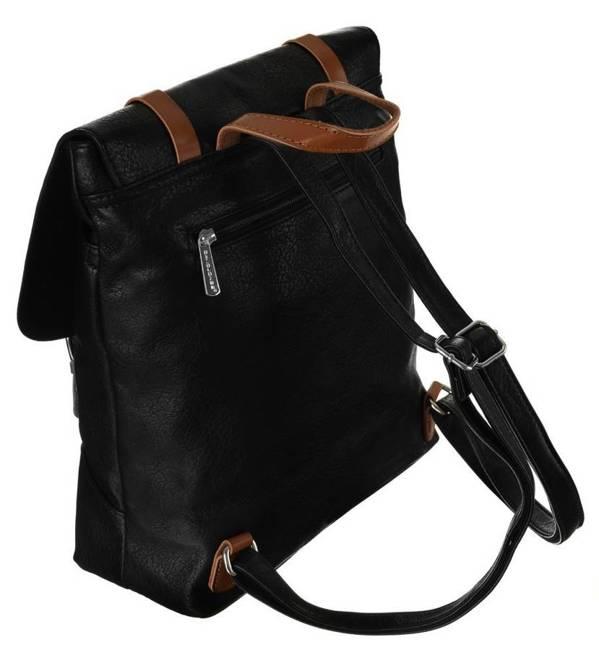 Plecak damski czarny David Jones 6443-2 BLACK