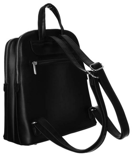 Plecak damski czarny David Jones 6502-2 BLACK