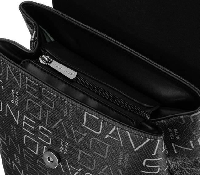 Plecak damski czarny David Jones 6534-1 BLACK