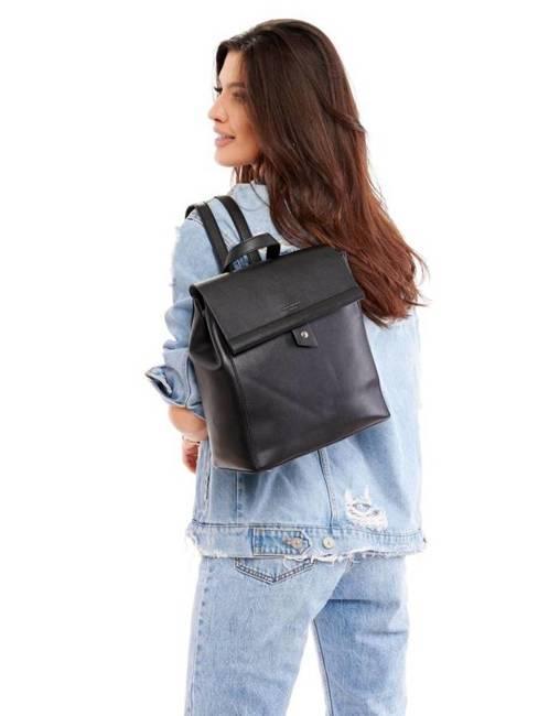 Plecak damski czarny David Jones CM5403 BLACK