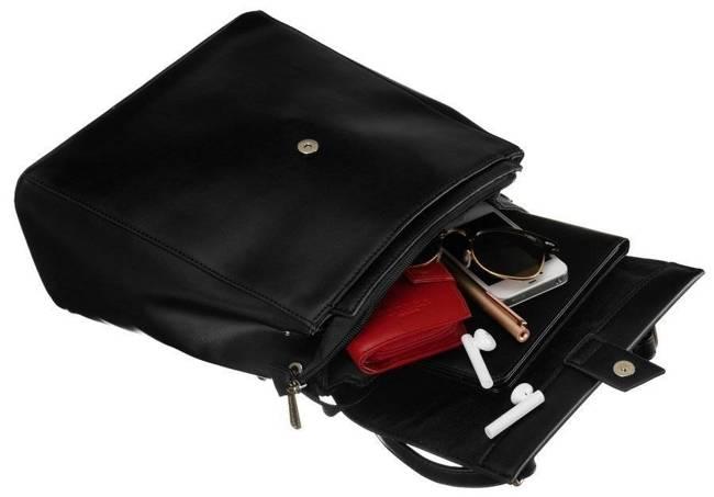 Plecak damski czarny David Jones CM6060 BLACK