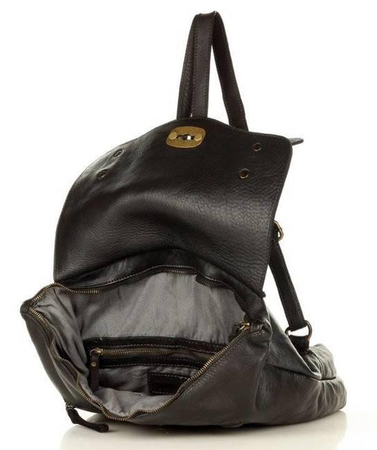 Plecak damski czarny MARCO MAZZINI v155a
