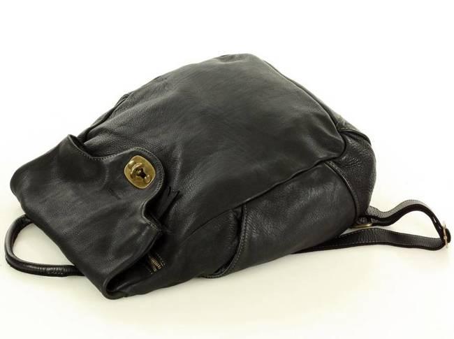 Plecak damski czarny MARCO MAZZINI  v71c