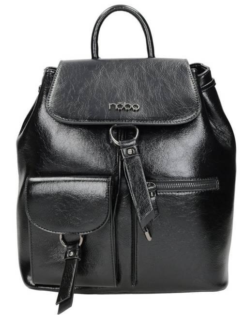 Plecak damski czarny Nobo NBAG-K2450-C020