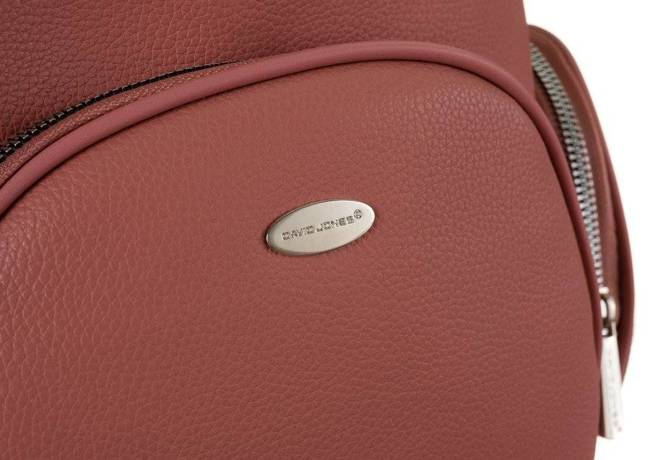 Plecak damski czerwony David Jones 6521-2 BRICK