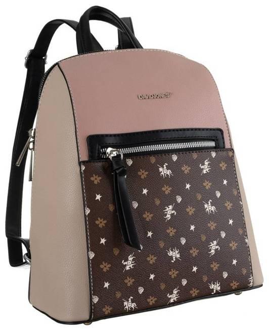 Plecak damski różowy David Jones 6531-2 PINK