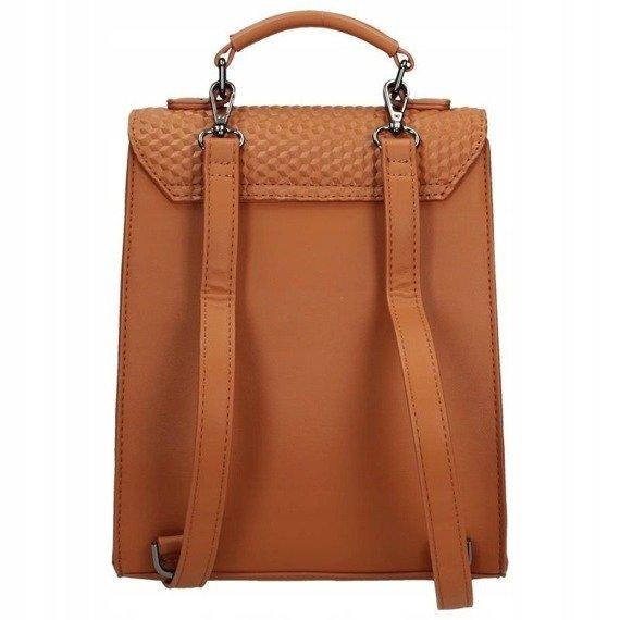 Plecak damski torebka 2w1 NOBO brązowy