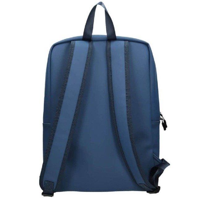 Plecak damski z eko skóry A4 NOBO niebieski