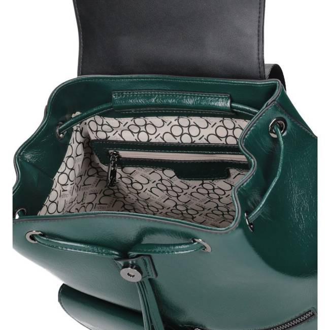 Plecak damski zielony Nobo NBAG-K2450-C008