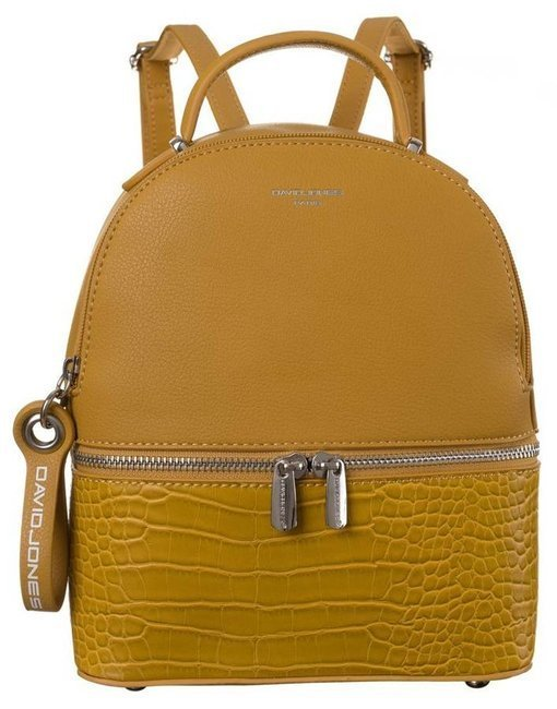 Plecak damski żółty David Jones 6269-1 YELLOW
