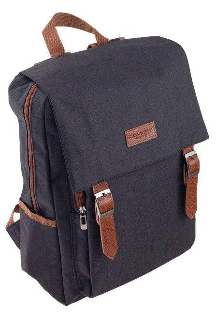 Plecak męski czarny Rovicky NB0985-4481 BLACK