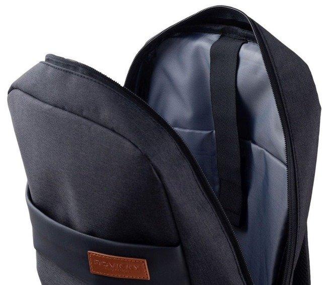 Plecak męski czarny Rovicky NB9755-4399 BLACK