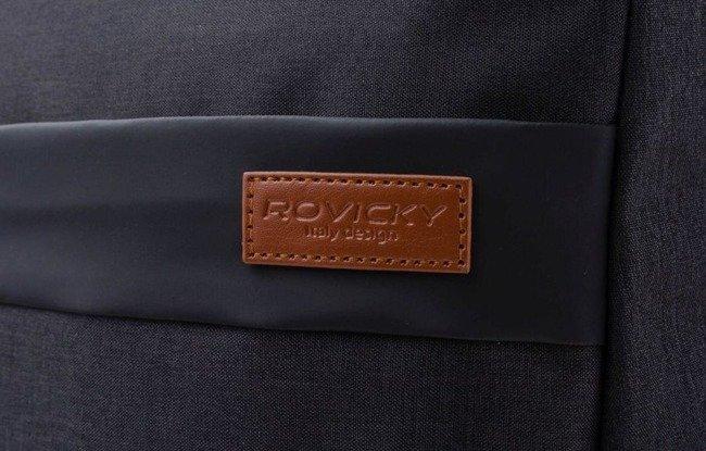 Plecak męski granatowy Rovicky NB9755-4412 NAVY