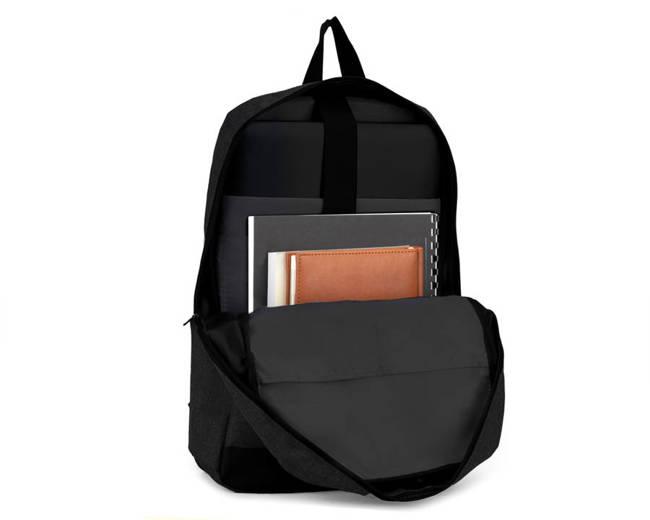 Plecak miejski na laptopa SOLIER SV11 BLACK czarny