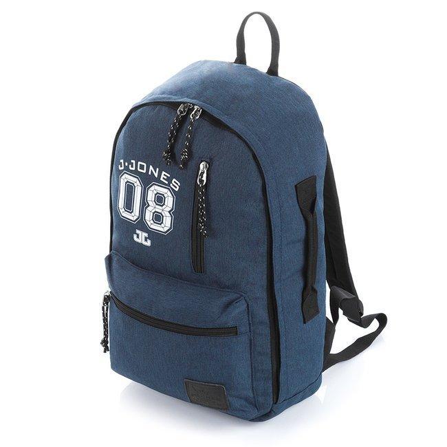 Plecak młodzieżowy na laptopa niebieski Jennifer Jones 4090-1