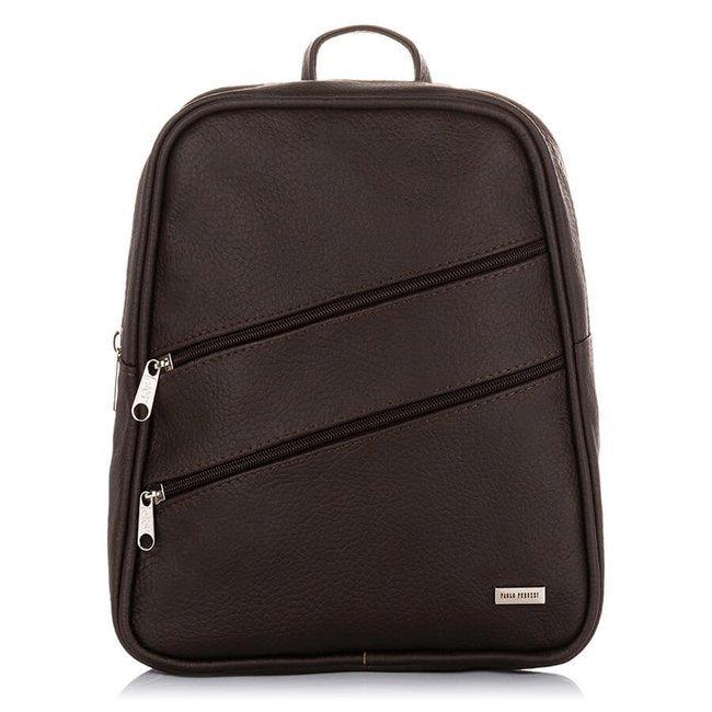 Plecak skórzany damski Paolo Peruzzi B-14 czarny
