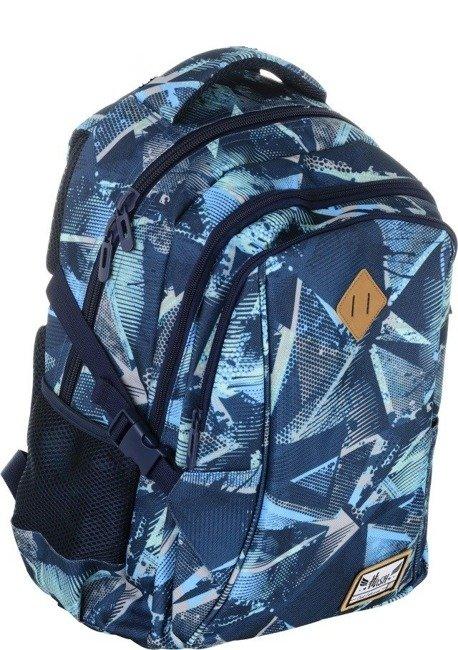 Plecak szkolny niebieski Always Wild HS-17 HASH