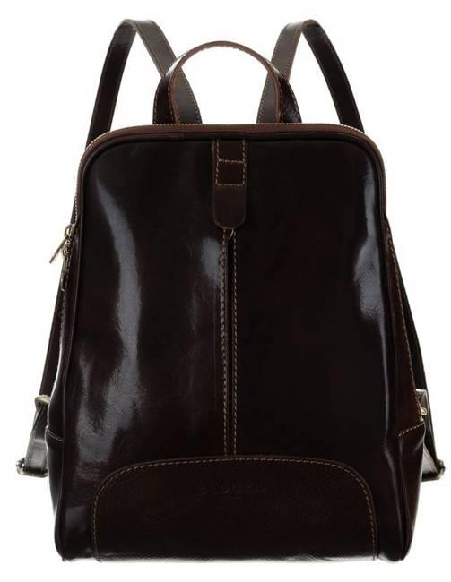 Plecak w stylu vintage brązowy Badura T_D193CB_CD