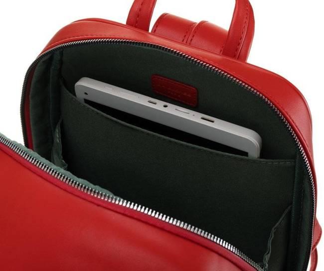 Plecak z kieszenią na tablet czerwony David Jones CM6075 RED