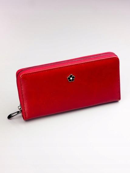 Pojemny portfel damski czerwony PX25-2