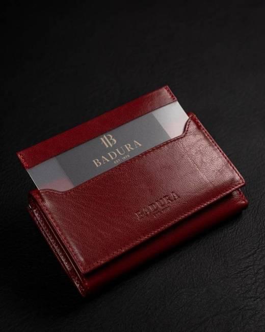 Portfel damski Badura  PO_D101CR_CE czerwony