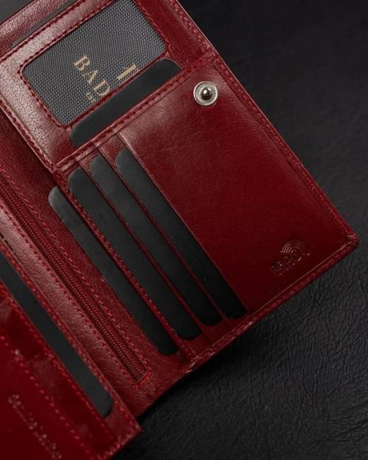 Portfel damski Badura PO_D104CR_CE czerwony