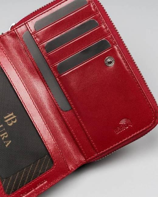 Portfel damski Badura PO_D107CR_CE czerwony