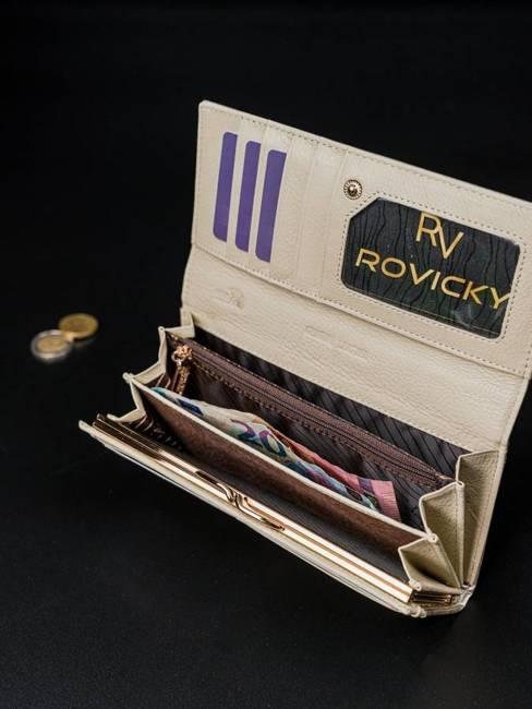 Portfel damski Rovicky 8801-YMA SILVER