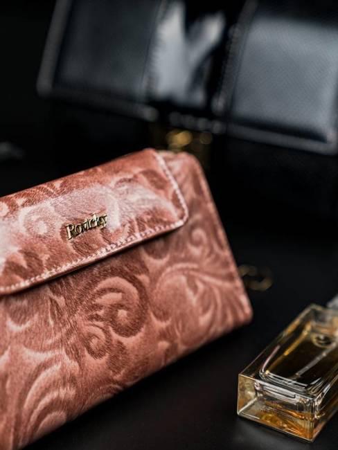 Portfel damski Rovicky różowy 8808-JXW PINK