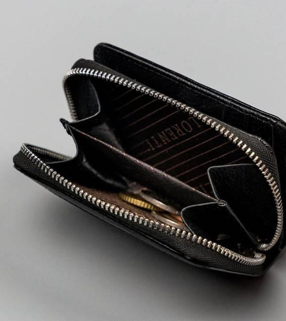 Portfel damski czarny Lorenti  5157-BPR-1301 BLACK