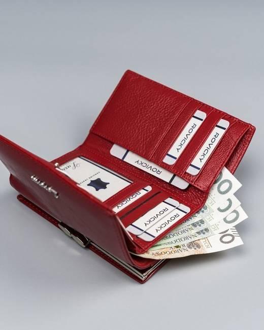 Portfel damski czerowny Lorenti  55020-BPR-1318 RED