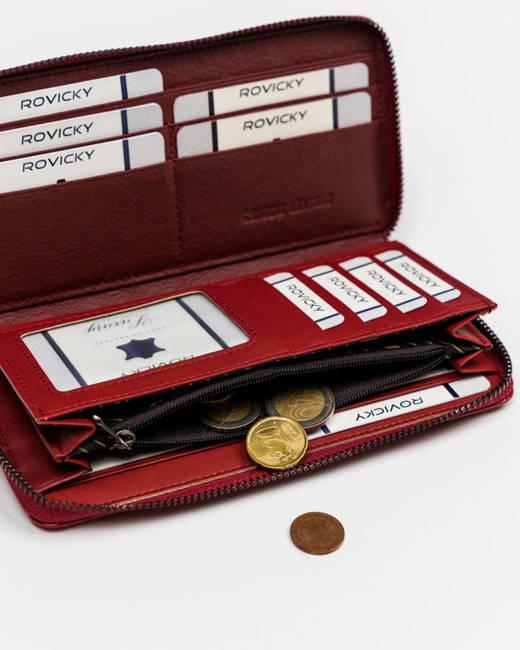 Portfel damski czerwony Cavaldi PX25-CR-0710 RED