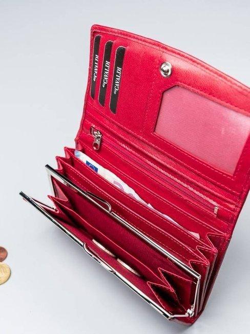 Portfel damski czerwony Cavaldi RD-06-GCL RED