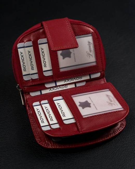 Portfel damski czerwony  Cavaldi RD-DB-06-GCL-7290 RE