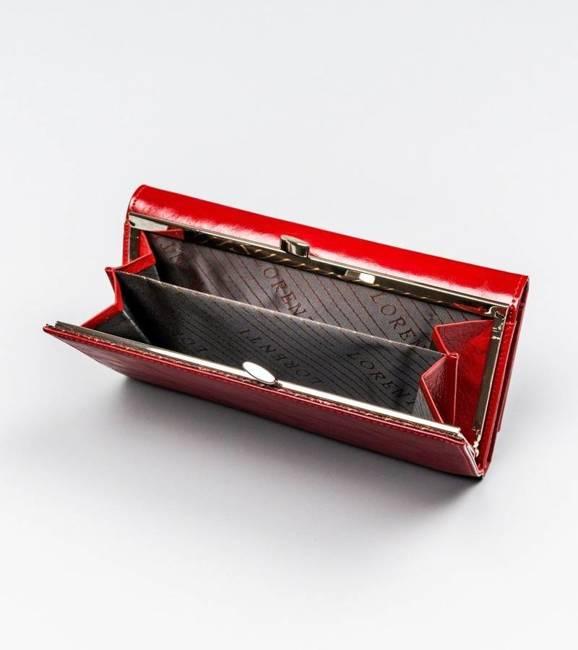 Portfel damski czerwony Lorenti 72031-BPR-1332 RED