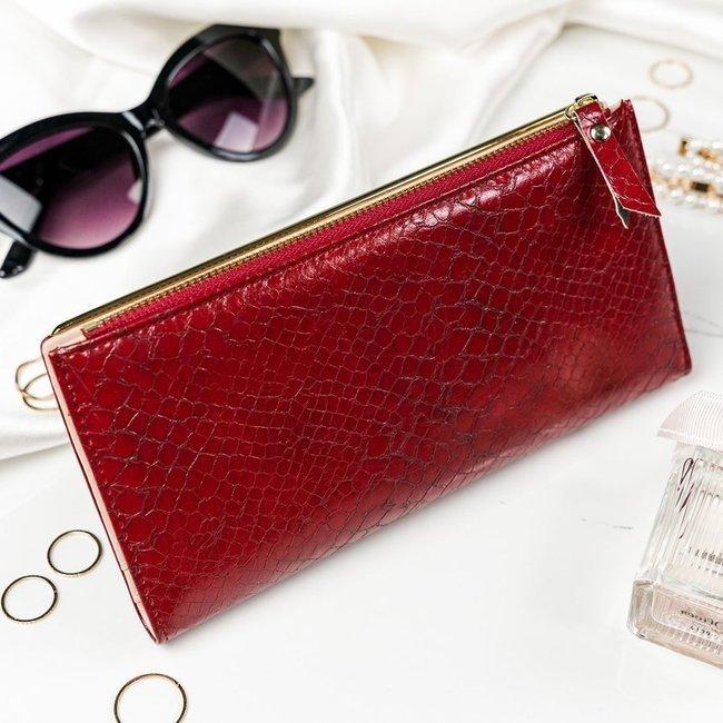 Portfel damski czerwony Milano Design K1213-SN-7411 RED