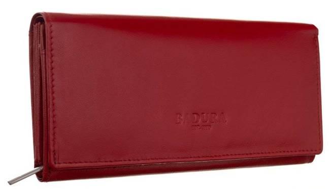Portfel damski czerwony PO_D120CR_CE