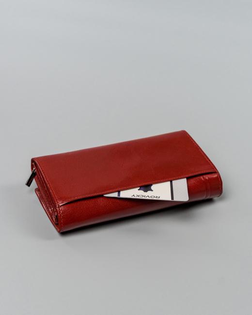 Portfel damski czerwony Rovicky CPR-8756-BAR-6866 RE