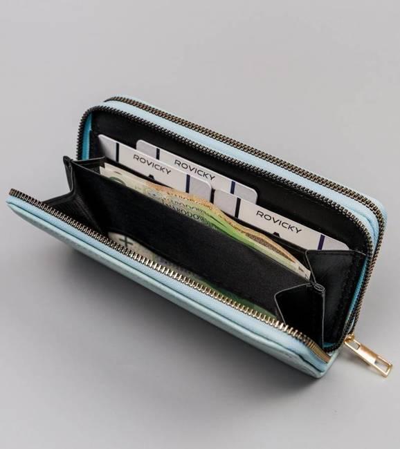 Portfel damski niebieski Cavaldi LPD-01-5327 L.BLUE