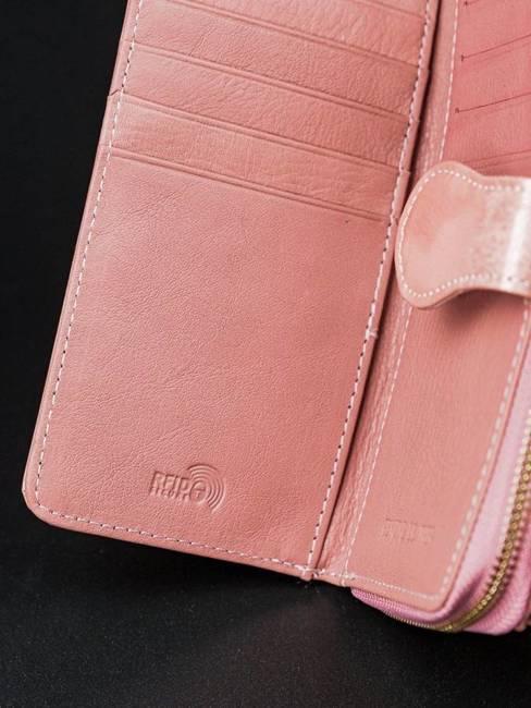 Portfel damski różowy Rovicky 8806-YMA PINK
