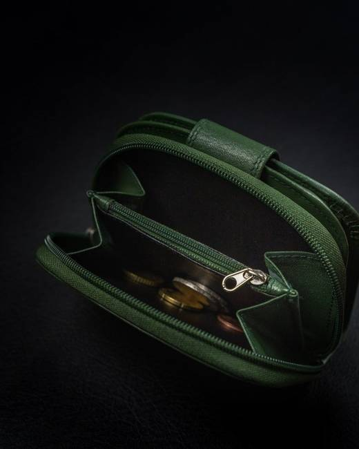 Portfel damski zielony 4U Cavaldi RD-DB-06-GCL-7320 D.