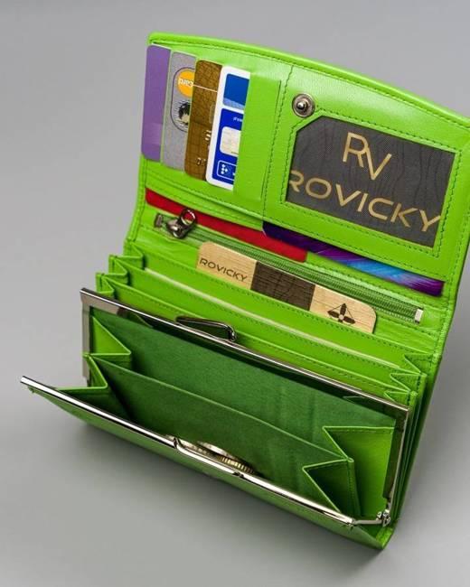 Portfel damski zielony Cavaldi RD-06-GCL MINT