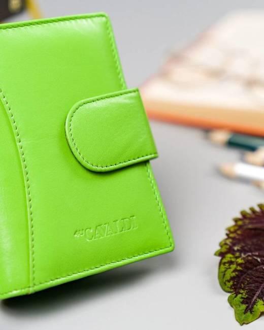 Portfel damski zielony Cavaldi RD-09-GCL MINT