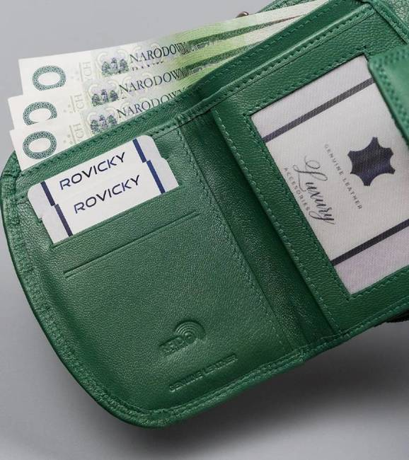 Portfel damski zielony Cavaldi RD-DB-06-GCL-8720 TU
