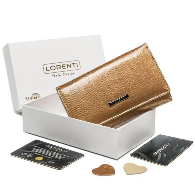 Portfel damski złoty Lorenti 398905-SH-2944 CHAMP