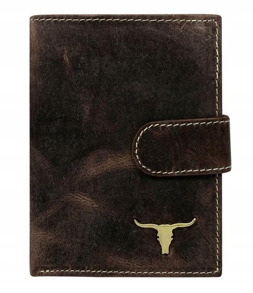 Portfel męski Buffalo Wild brązowy RM-06L-BAW