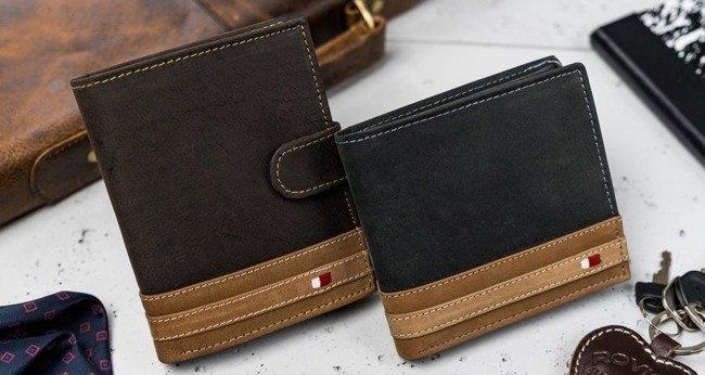 Portfel męski brązowy Always Wild N992-R-RFID BR+TAN